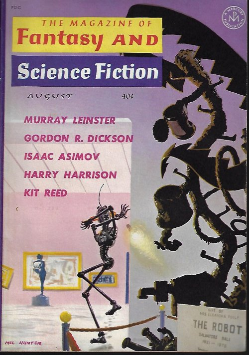 Image for The Magazine of FANTASY AND SCIENCE FICTION (F&SF): August, Aug. 1961