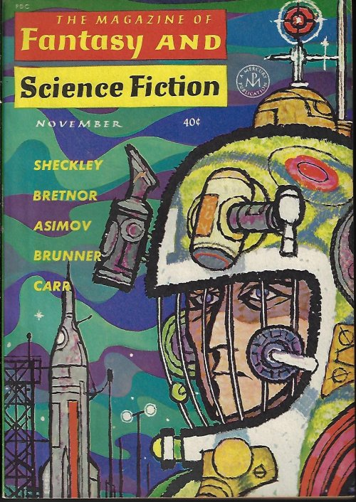 Image for The Magazine of FANTASY AND SCIENCE FICTION (F&SF): November, Nov. 1962