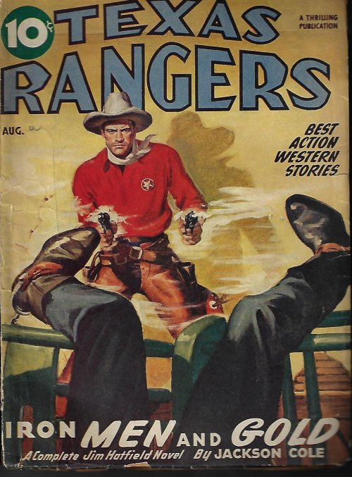 Image for TEXAS RANGERS: August, Aug. 1946