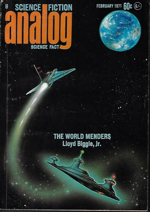 "Image for ANALOG Science Fiction/ Science Fact: Feb. 1971 (""The World Menders"")"