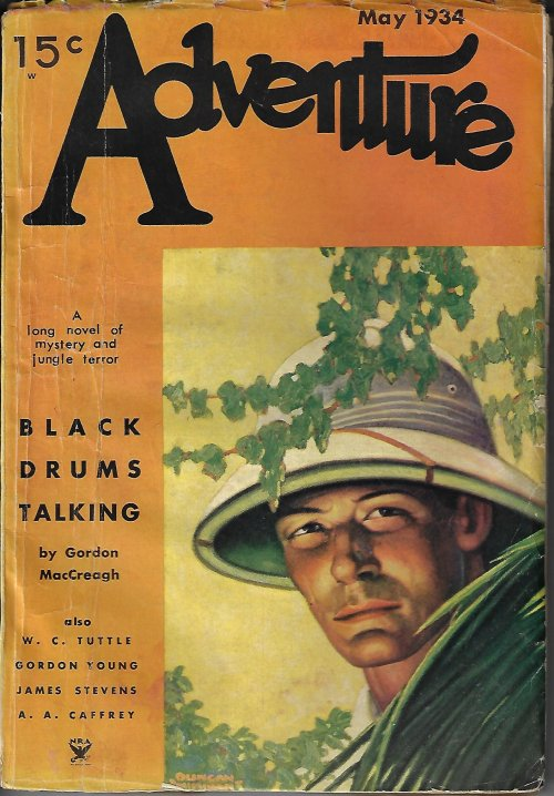 Image for ADVENTURE: May 1934
