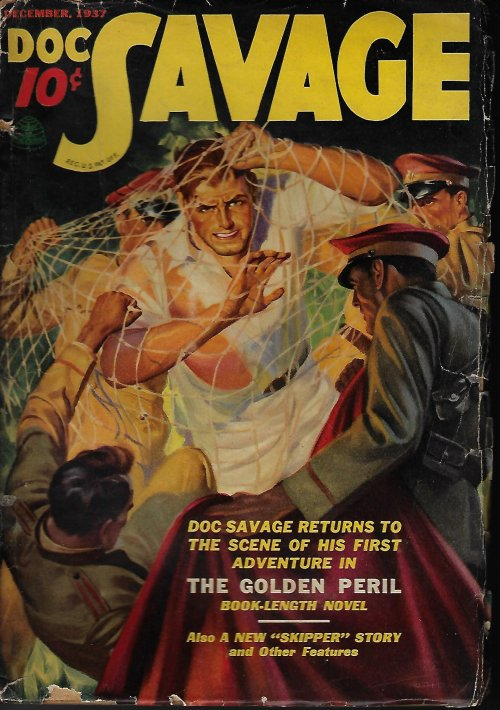 "Image for DOC SAVAGE: December, Dec. 1937 (""The Golden Peril"")"