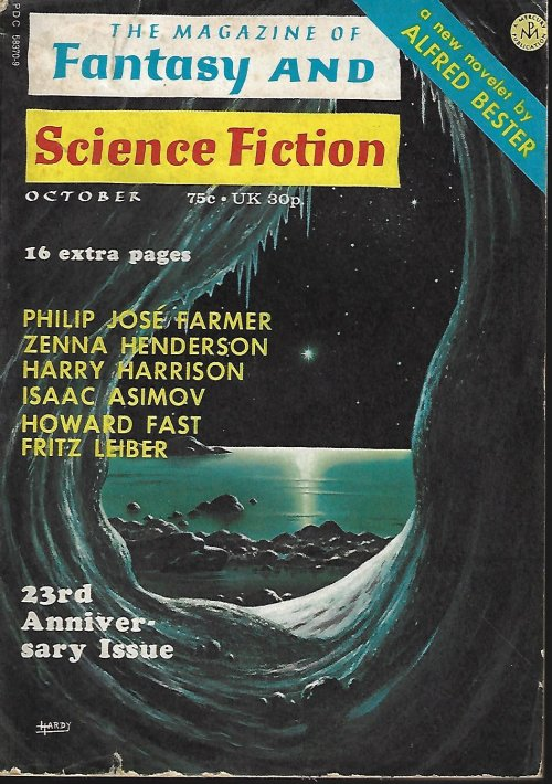 Image for The Magazine of FANTASY AND SCIENCE FICTION (F&SF): October, Oct. 1972